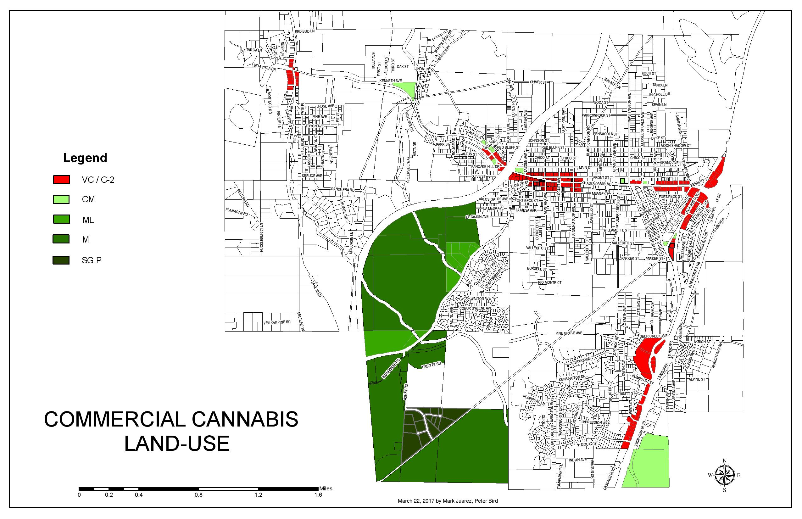 Commercial Cannabis Land-Use