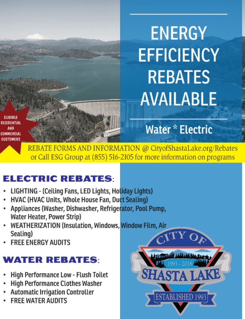 EFFICIENCY REBATE FLYER Opens in new window